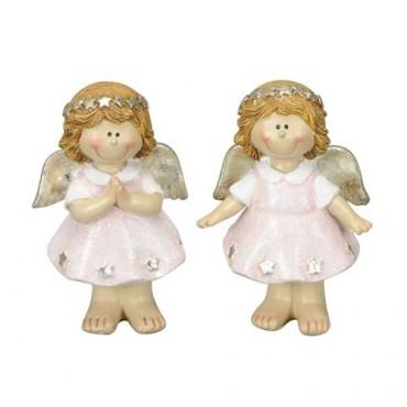 Decoratiune Pink Angel 5x7 cm - modele diverse