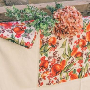 Fata de masa natur Peaches 140 cm