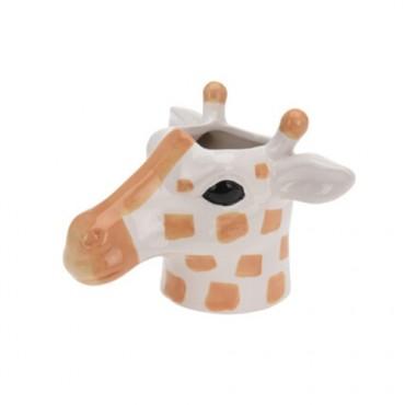 Ghiveci Girafa din ceramica 12 cm