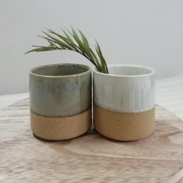 Ghiveci Sand din ceramica 8 cm - modele diverse