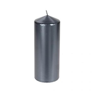 Lumanare Dark Grey 18 cm