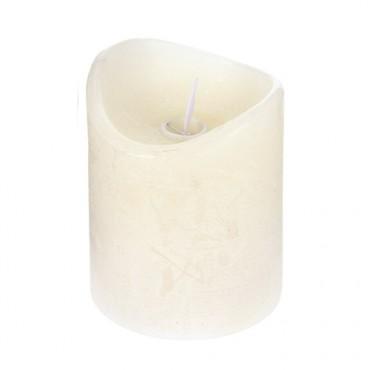 Lumanare Ivory cu LED 10 cm