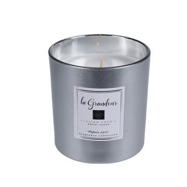 Lumanare parfumata Grandeur Silver 10 cm