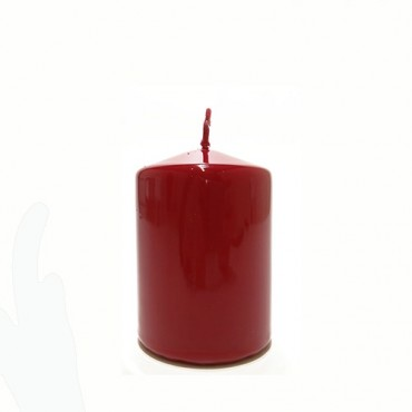 Lumanare rosie 10 cm