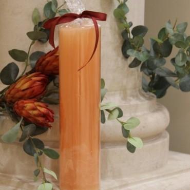 Lumanare Spectacular Apricot 27 cm