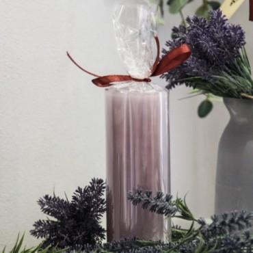 Lumanare Spectacular Mauve 17 cm