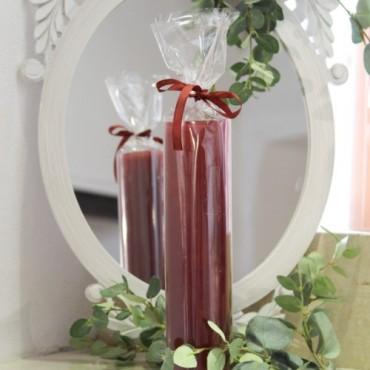 Lumanare Spectacular Wine Red 27 cm