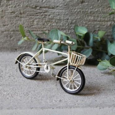Macheta Cream Bike din metal 16.5x5.5x9 cm
