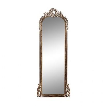 Oglinda Madeira din lemn maro 48x137 cm
