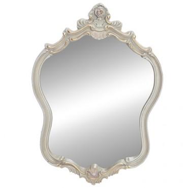 Oglinda Perla din polirasina crem 48x69 cm