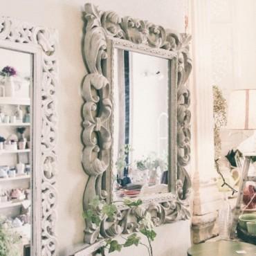 Oglinda Precious Grey 64x87 cm