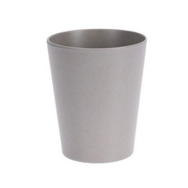Pahar Grey din bambus 10 cm