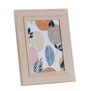 Rama foto Wooden din lemn natur 19x24 cm - modele diverse