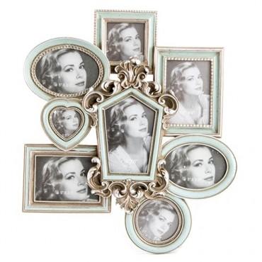 Rama foto Silver pentru 8 fotografii 40x45 cm