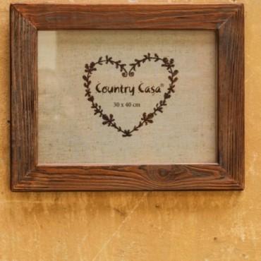 Rama foto Simple Love din lemn 41x51 cm