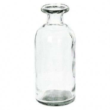 Recipient decorativ din sticla reciclata