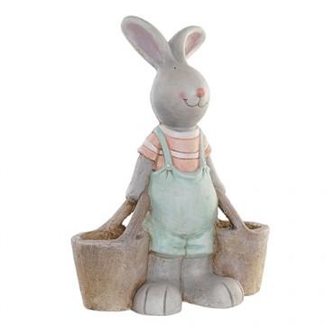 Statueta Rabbit baietel 45 cm