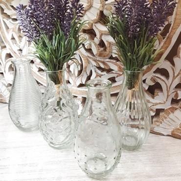 Sticla decorativa 14 cm - modele diverse