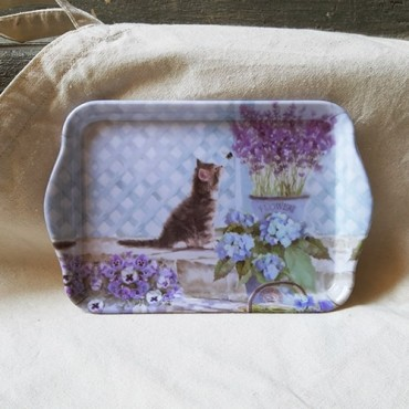 Tava Kitten din melamina 13x21 cm