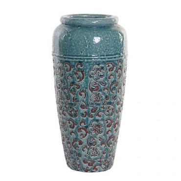 Vaza Teracotta din ceramica turcoaz 40 cm