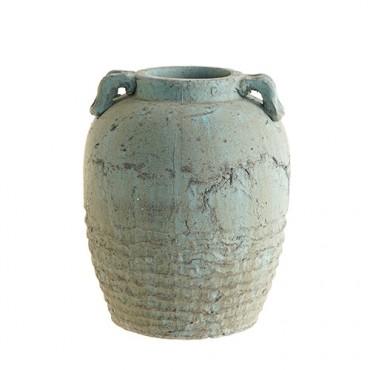 Vaza Vintage din teracota 28 cm