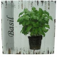 Tablou Plants din lemn 50x50 cm