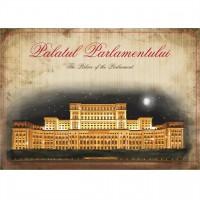 Felicitare cu Palatul Parlamentului