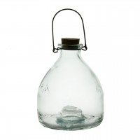 Capcana pentru viespi din sticla cu dop si maner 18 cm