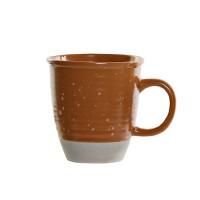 Cana Daily din ceramica portocalie 11 cm