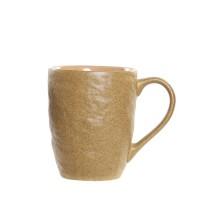 Cana Spot din ceramica galbena 10 cm
