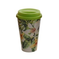 Cana Tropical Green din bambus 14 cm