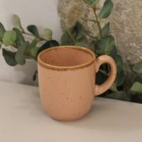 Cana Gardena din ceramica corai 9 cm