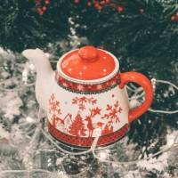 Ceainic Reindeer din ceramica 12 cm - 2 modele