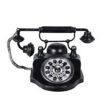Ceas Vintage Phone din metal 31x17x20cm
