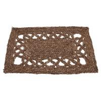 Covoras intrare Rustik din fibre maro 40x60 cm
