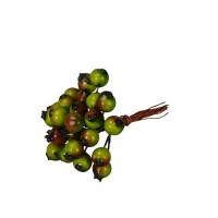 Decoratiune Berries cu bobine verzi 9 cm