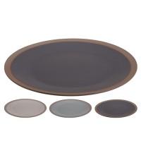 Farfurie intinsa Matte din ceramica 27 cm - modele diverse