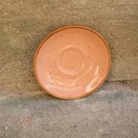 Farfurie de desert Gardena din ceramica corai 14 cm