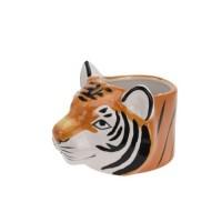 Ghiveci Tigru din ceramica 12 cm
