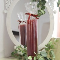 Lumanare Spectacular Wine Red 27 cm