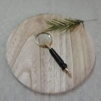 Lupa cu maner din lemn 15 cm