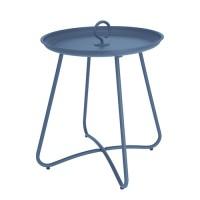 Masuta Hanger din metal albastru 40x46 cm