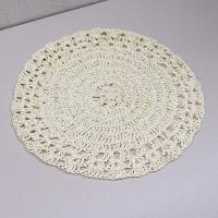 Napron Crochet bej 37 cm