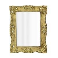 Oglinda Antique din lemn auriu 51x40 cm