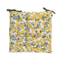 Perna pentru scaun Summer din bumbac galben 40 cm