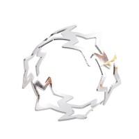 Set 6 inele argintii pentru servetele 5x3 cm