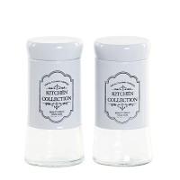 Set cu recipiente pentru sare si piper 11 cm