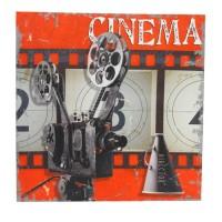 Tablou Cinema 40x40 cm