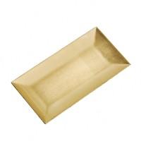 Tava aurie Goldine 24x12 cm
