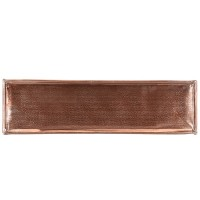 Tava Copper din metal aramiu 46x13 cm - 4 modele disponibile
